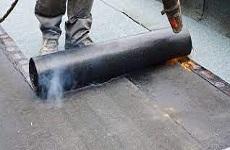 Dakdedekking bitumen
